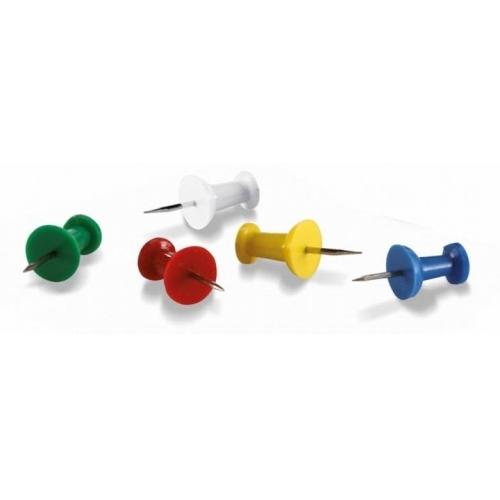 Připínáčky Magnetoplan mix barev