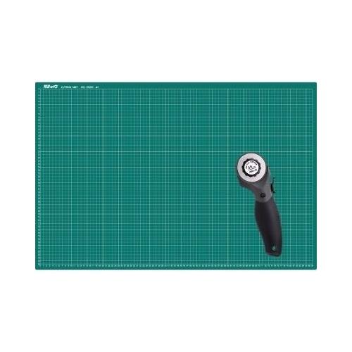 Řezací podložka KW-Trio A1 60x90 cm + Rotační řezací nůž - výhodná cena